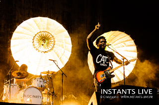 Bloc Party - Concert @ Main Square Festival 2013