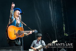 photos du concert d'Allen Stone @ Main Square Festival 2014 : Arras : 05.07.2014