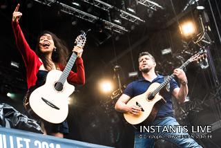 photos du concert de Rodrigo y Gabriela @ Main Square Festival 2014