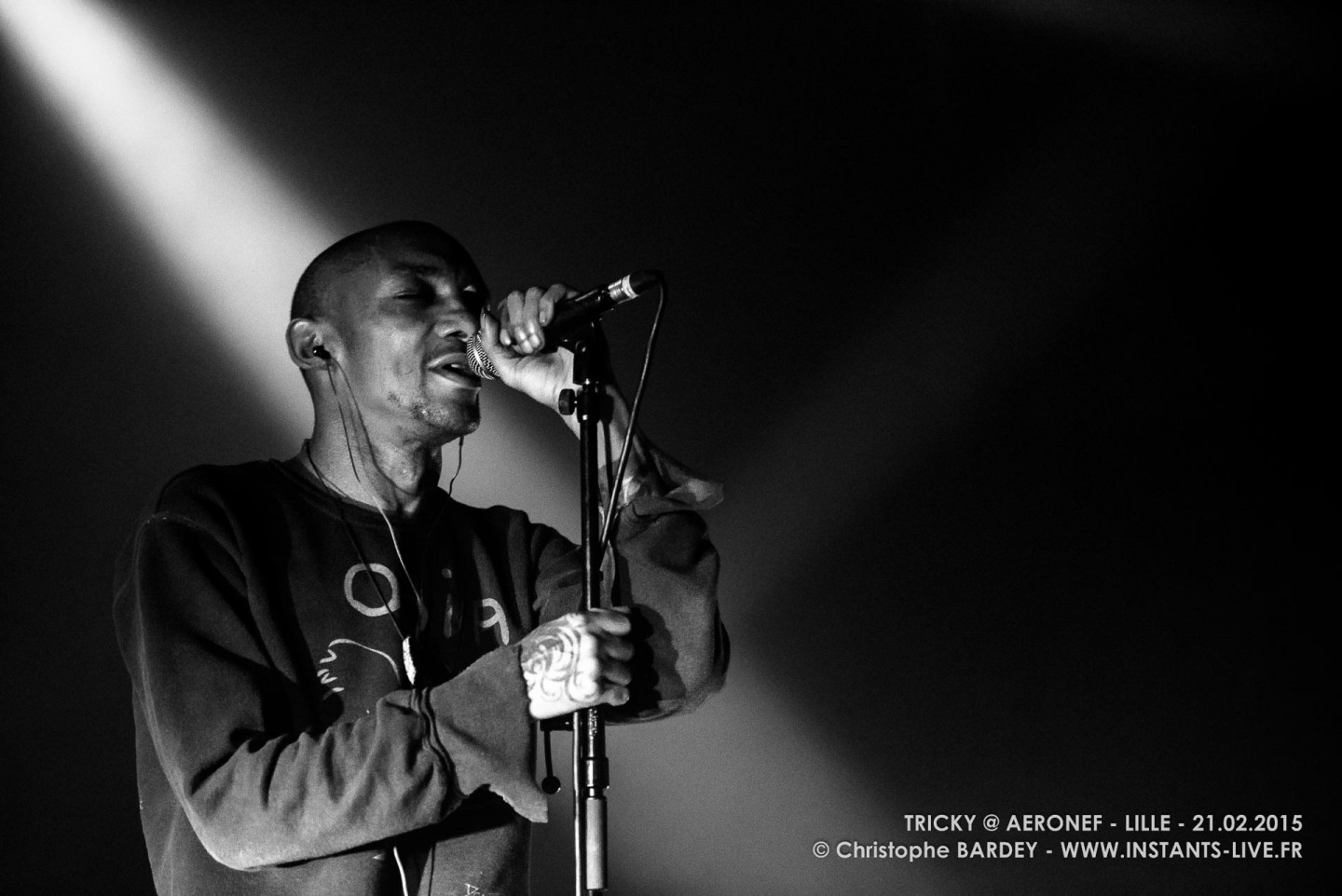 TRICKY - Concert @ Aéronef 2015