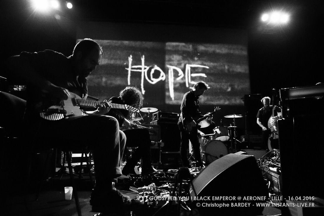 Godspeed You! Black Emperor – Concert @ Aéronef
