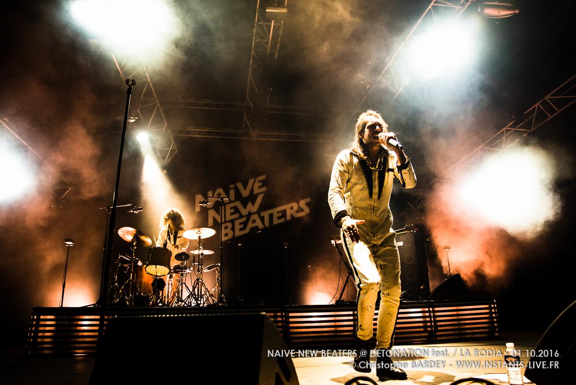Naïve New Beaters @ Festival Détonation / La Rodia - Besançon