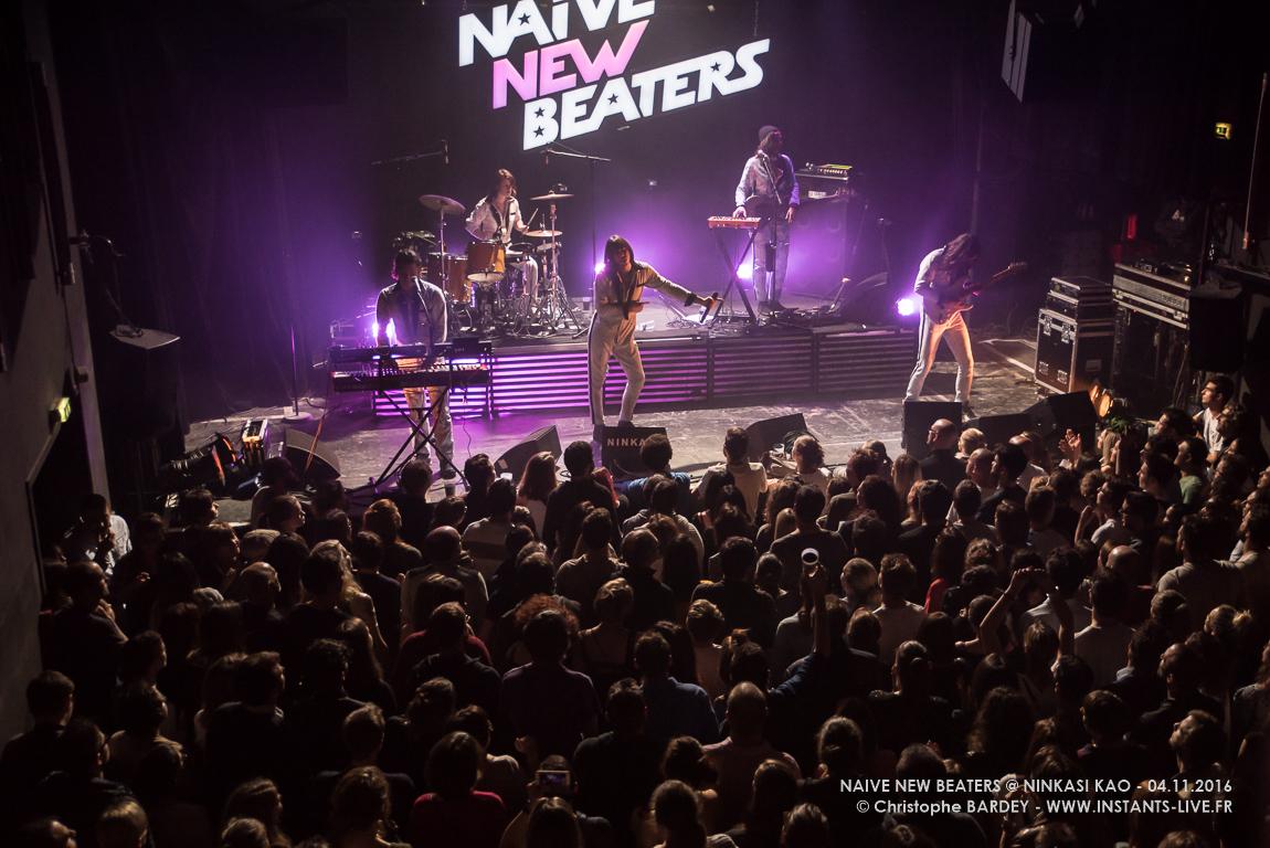Naïve New Beaters – Concert @ Ninkasi – Lyon   INSTANTS LIVE Photos ...