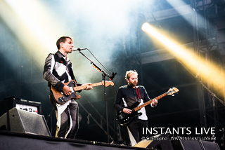 photos du concert de Franz Ferdinand @ Main Square Festival 2014 : Arras : 04.07.2014