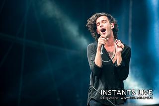 photos du concert de The 1975 @ Main Square Festival 2014 : Arras : 05.07.2014