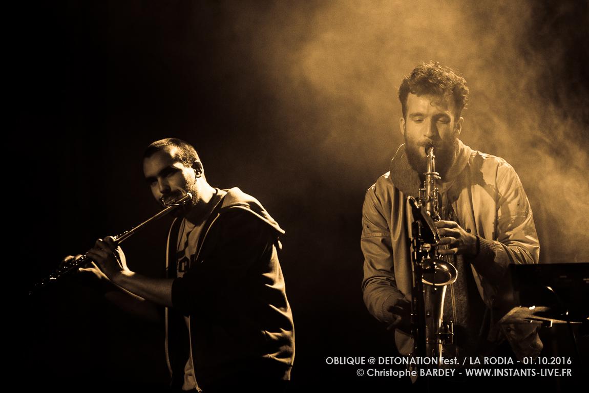 Oblique @ Festival Détonation / La Rodia – Besançon